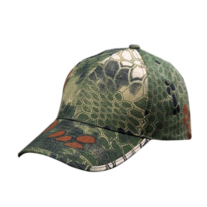 Military Tactical Cap Boonie Sun Hat Outdoor Camouflage Airsoft CL