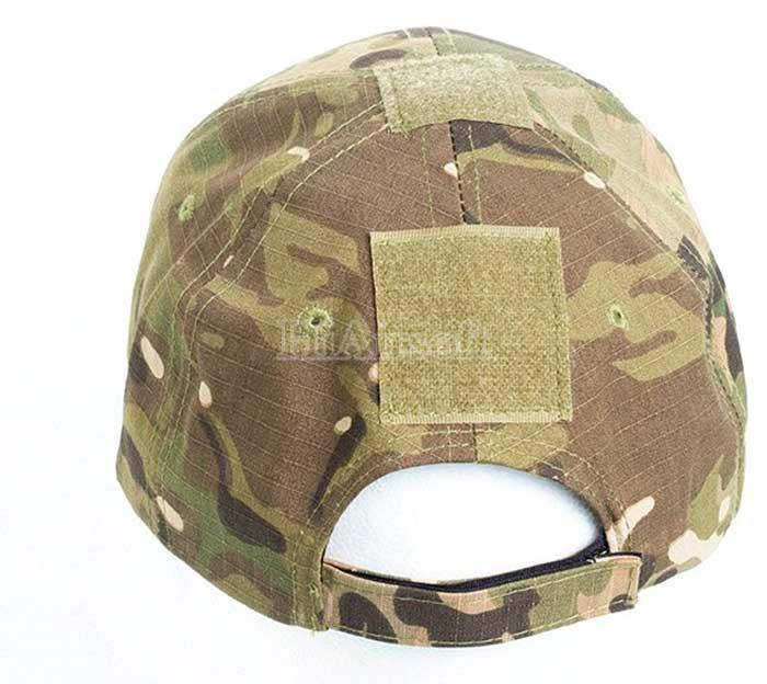 Adjustable Tactical Cap Military Sun Hat with Velcro