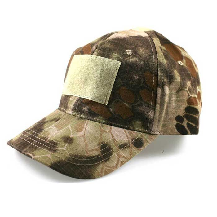 Adjustable Military Camo Airsoft Baseball Cap Tactical Hat w Velcro