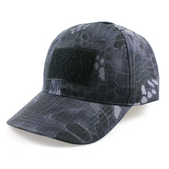 Adjustable Military Baseball Cap Airsoft Camo Tactical Hat w Velcro