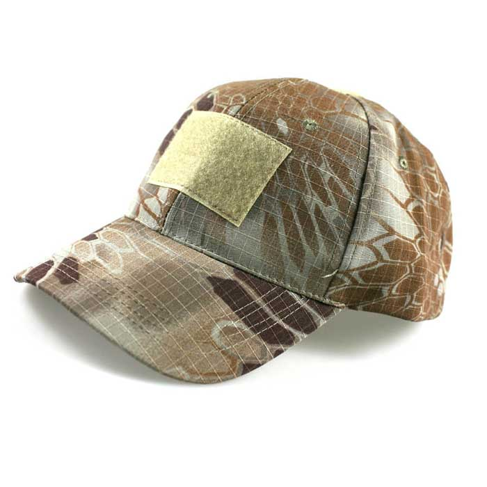 Adjustable Military Velcro Camo Cap Airsoft Tactical Baseball Hat MP