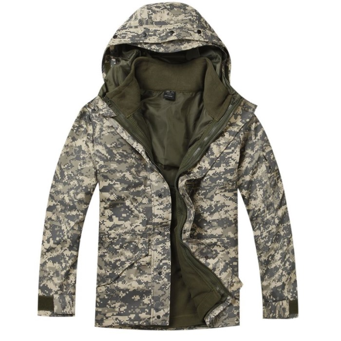 Military Clothing Python Camouflage Coat Tactical Jacket G8 ACU