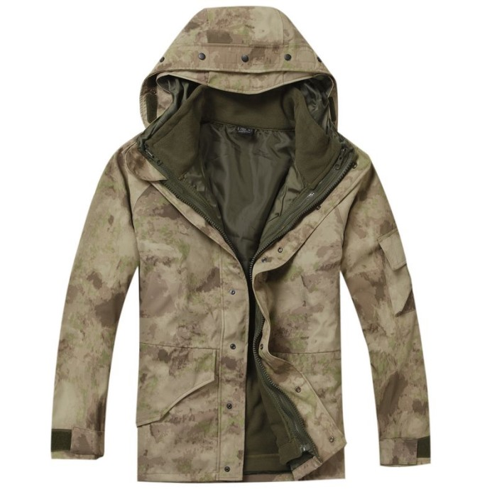 Military Clothing Python Camouflage Coat Tactical Jacket G8 ATACS