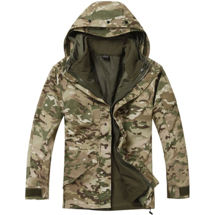 Military Clothing Python Camouflage Jacket Tactical Coat G8 CP