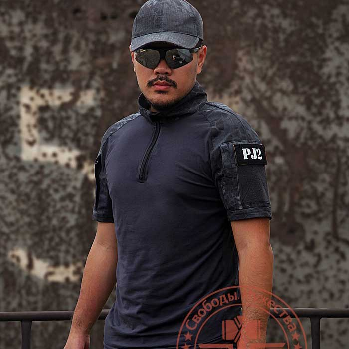 Rattlesnake Tactical Python Colorblock Shirt Short Sleeve Tees WJH