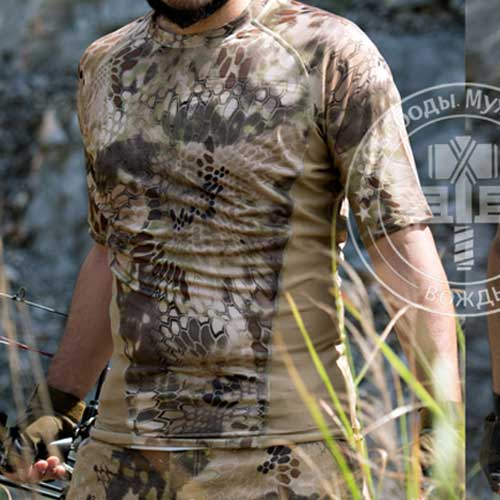 Chiefs Kryptek Tactical Shirt Short Sleeve Quick-Drying T-shirt WS