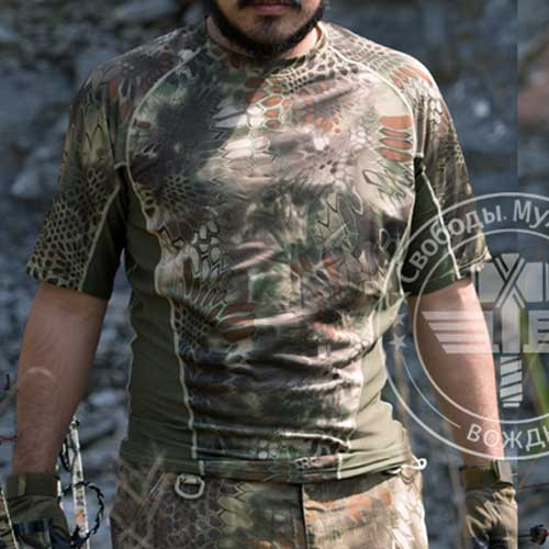Chiefs Quick-Drying Python Kryptek Tactical Shirt Short Sleeve WSD