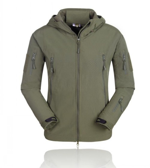 Tactical Outdoor Waterproof Keep Warm Jacket Army Green