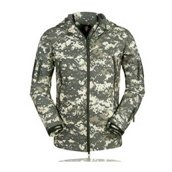 Tactical Jackets Outerwear Waterproof Soft Military Acu Camo