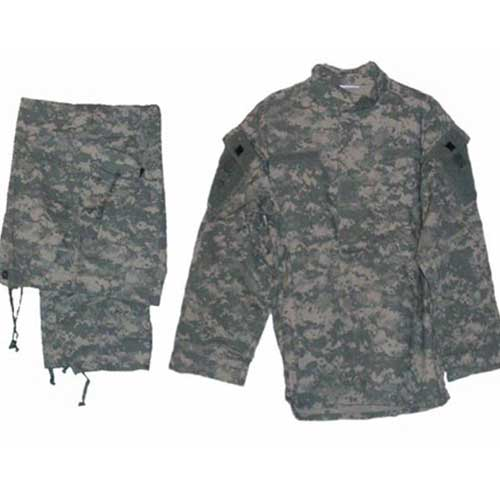 H Digital AUC Camouflage BDU Field Uniform Field Shirt