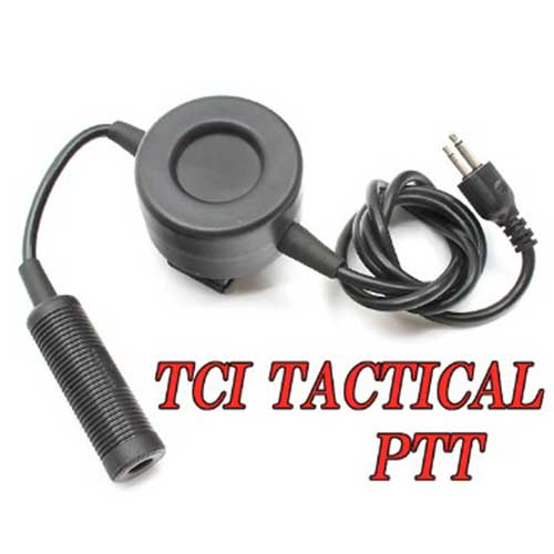 Z-Tactical Radio Headset TCI Style PTT for ICOM 2 Pins Airsoft