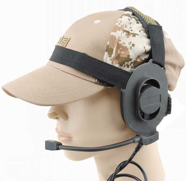 Bowman Elite II Airsoft Headset fit Element/Z-Tactical
