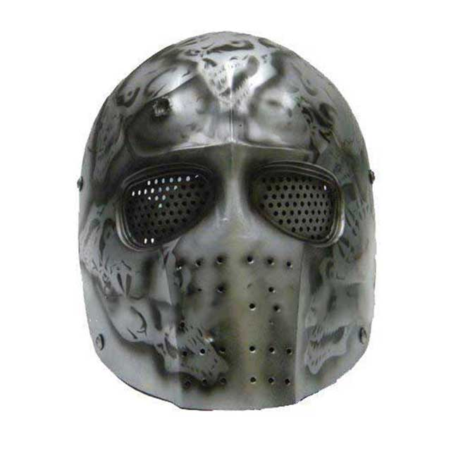 Airsoft Cool Army Two Hard Plastic Full Face Cover Mask
