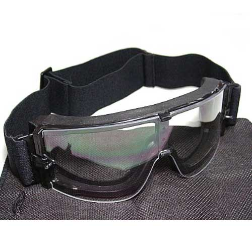 SWAT Top Airsoft X800 Tactical Goggle Glasses GX1000 Clear