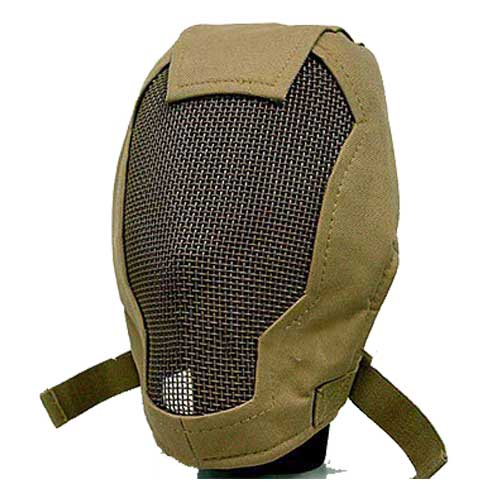 Quality AIRSOFT STALKER PRAETORIAN RAMPAGE Safety MASK TAN