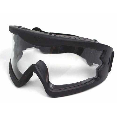 Airsoft X-Eye Wind Dust Tactical Goggle Glasses Black