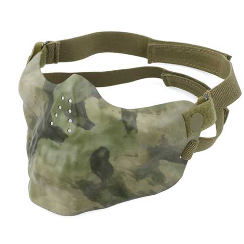 TM Combat Gear Neoprene Hard Foam Mask Camo Airsoft Goggles ATFG