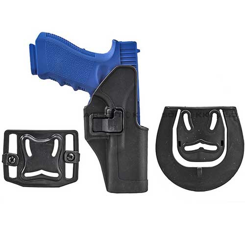 Blackhawk CQC Glock Holster 17 22 31 SERPA RH Black Holster