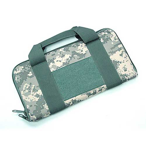 "Cheap 14"" Airsoft Gun Bag Carry Case Pouch Digital ACU Camo"