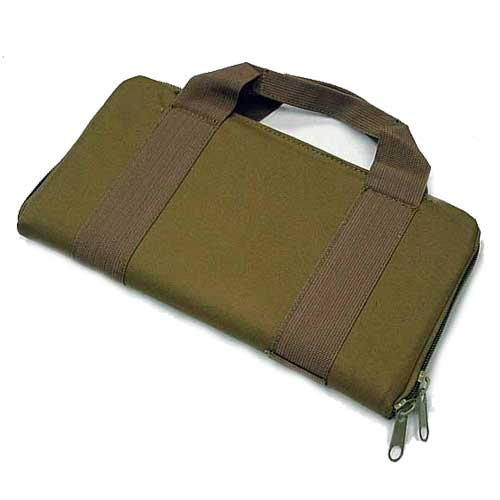 Airsoft AEG Carry Case Gun Bag 14 inch Pouch Coyote Brown