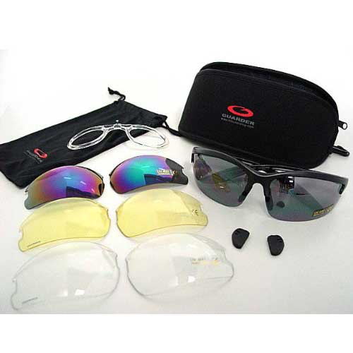 Airsoft Tactical Shooting Glasses 4 pices lens Guarder CS3