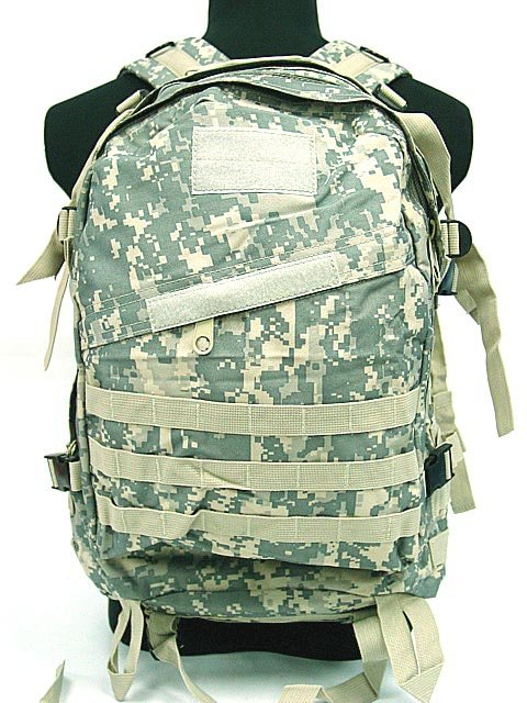Airsoft Combat Molle Assault Backpack Bag Digital ACU Camo