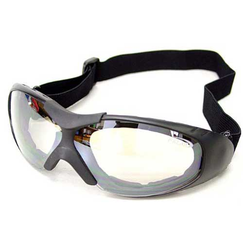 Tactical Airsoft Outdoor Goggle Safety Glasses Clear #B