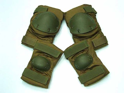 SWAT Airsoft Knee & Elbow Pads Coyote Brown Combat Online