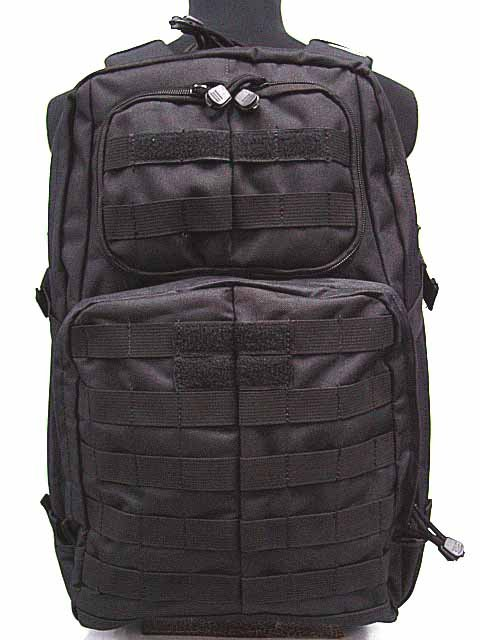 Tactical 3-Day Molle Patrol Assault Backpack Bag BK