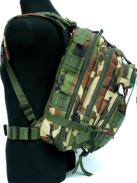 34 Best Waterproof Blinds Images On Pinterest: 3L Waterproof Molle Backpack Military Assault Bag Camo