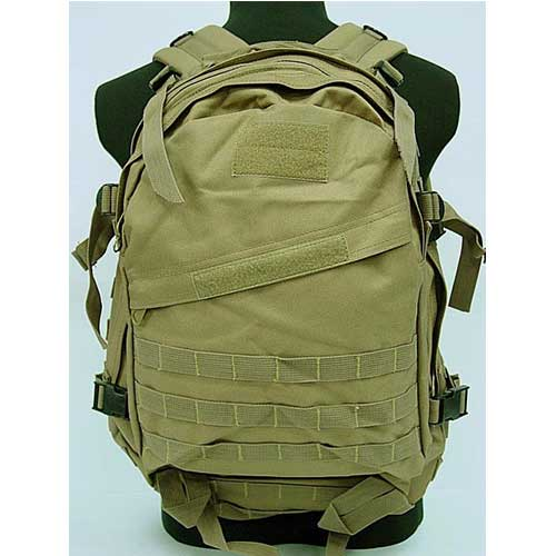 Airsoft Combat Tactical Gear Backpack 3D Tactical Bag Coyote Brown