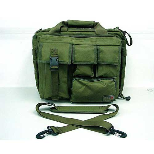 Shoulder Bag Airsoft Combat computer bag Pistol Case 2 Ways Bags OD