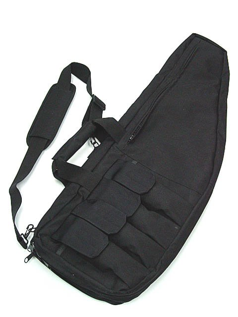 Tactical Gear DUAL LAYER RIFLE CARRYING CASE GUN BAG 34 inch BLA