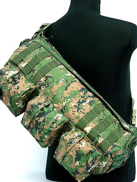Tactical backpacks Shoulder Go Pack Bag Digital Camo Woodland
