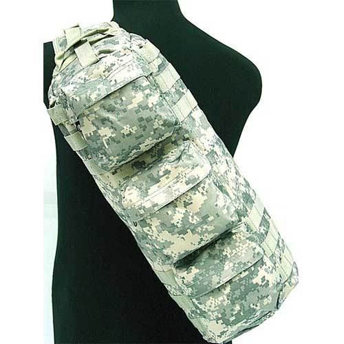 2.5L Adjustable Digital Camo tactical shoulder go pack bags ACU