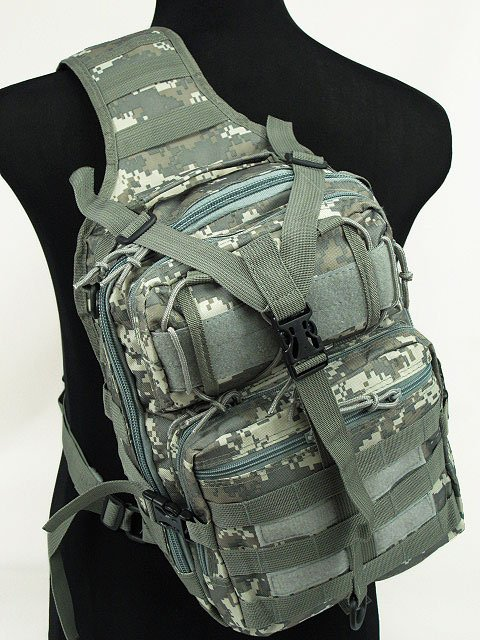 Airsoft Outdoor Tactical Combat Gear sling Bag Shoulder Bags ACU L
