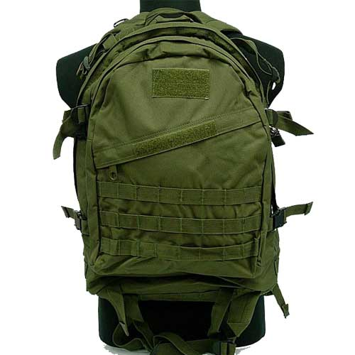 Airsoft Combat Tactical 3-Day Molle Assault Backpack Bag OD