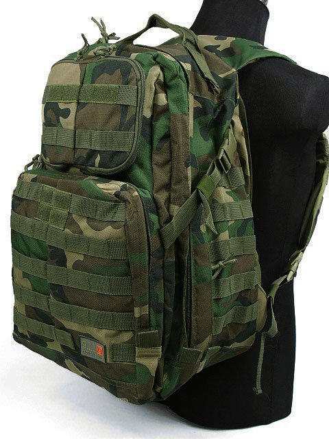 3-DAY MOLLE ASSAULT BACKPACK CAMO WOODLAND Field bag