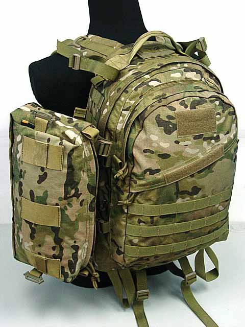 Hiairsoft Molle AIII 3 Day Backpack w/Pack Multicam MC
