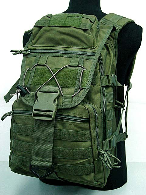 Airsoft Molle USMC Tactical Molle Patrol Gear Assault Backpack OD