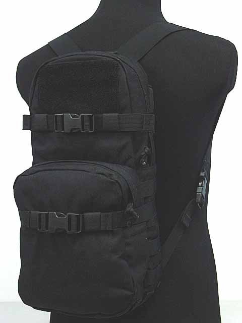 1000D Molle MBSS Hydration Backpack Black at Hiairsof