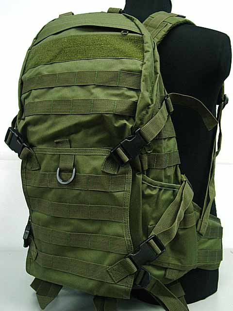 SWAT Tactical Backpack Bag Molle Patrol Rifle Gear OD
