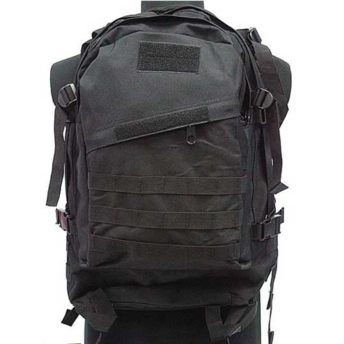 Airsoft Combat SWAT Tactical 3-Day Molle Assault Backpack Bag BK