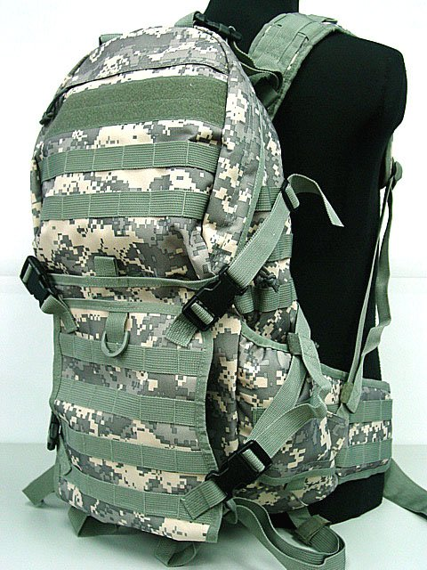 Molle rucksack Rifle Gear Backpack Digital ACU Camo