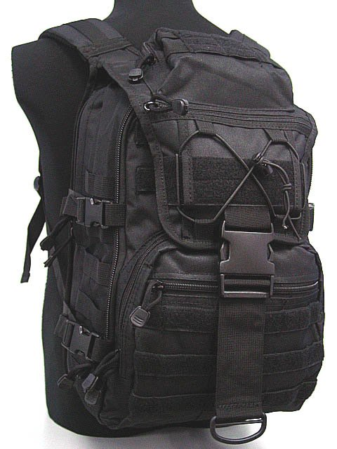 Airsoft Molle Tactical Patrol Gear Assault Backpack BK