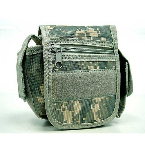 Practical Tool Waist Pouch Carrier Bag Digital ACU Camo