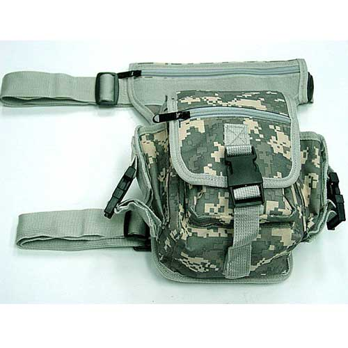 Multifunction Drop Leg Practical Carrier Bag Digital ACU Camo