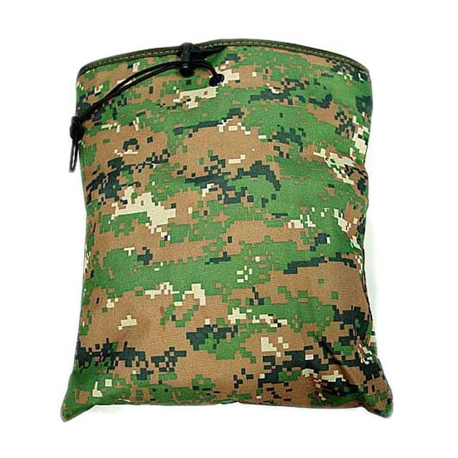 Digital Camo Woodland Magazine Mag Tool Drop Pouch Bag