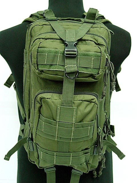 3L Level Milspec Military Molle Assault Tactical Backpack Bag OD
