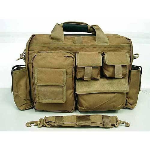 Airsoft outdoor Combat Shoulder Bag Coyote Brown